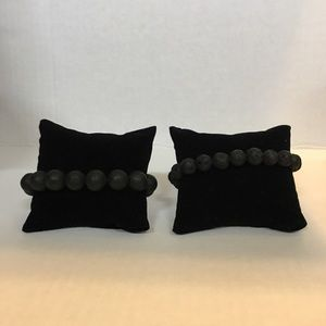 Jewelry - His and Hers Lava Rock Bracelets